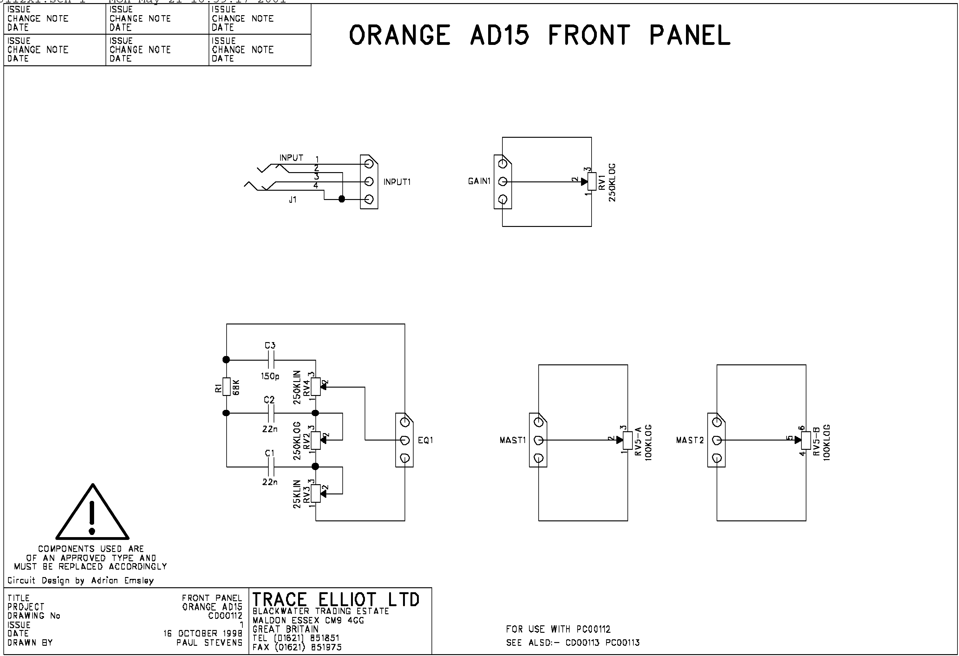 the orange amp mods page rh orangefieldguide com Speaker Orange Images Rockaverb Orange Amp Head