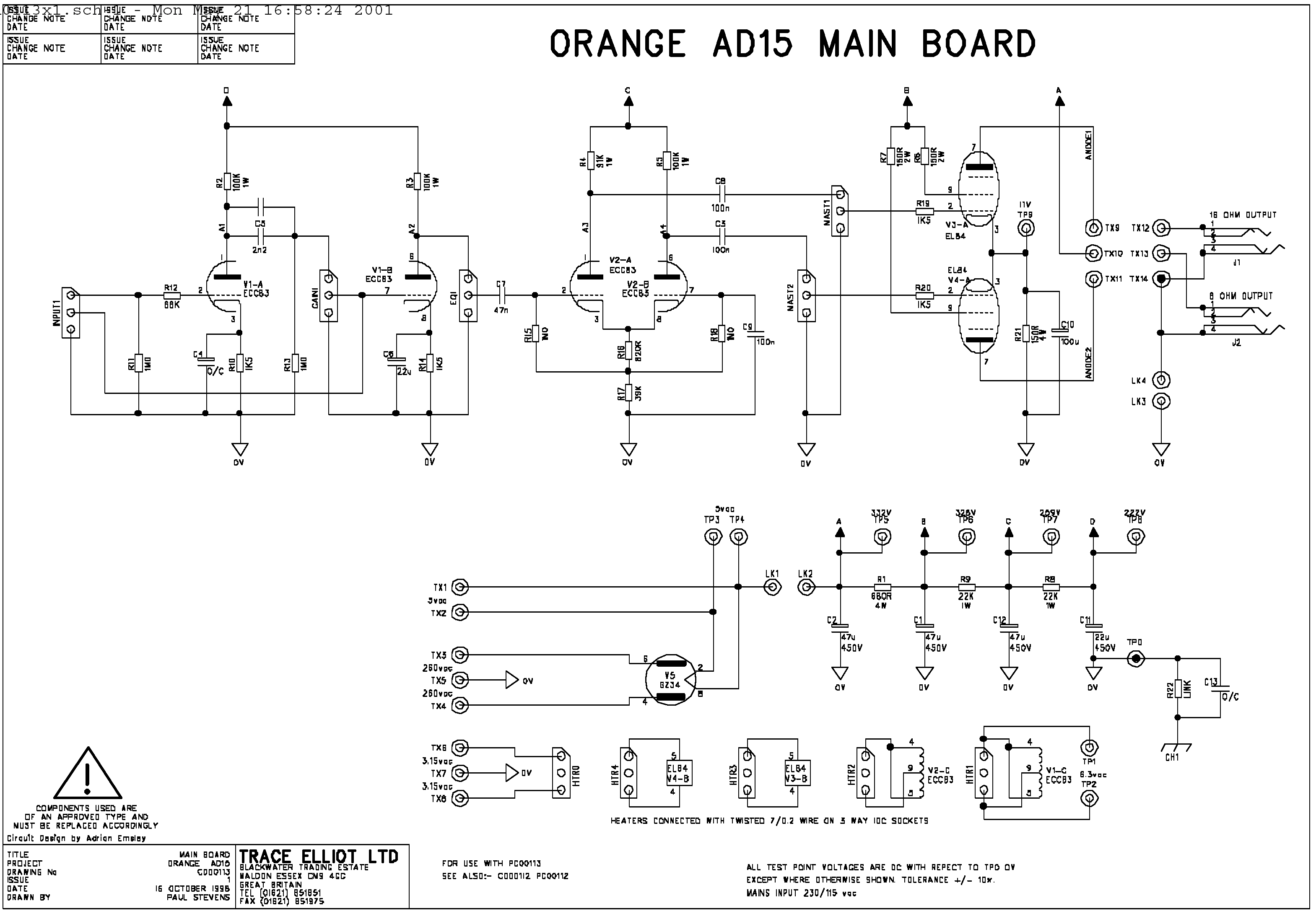the orange amp mods page rh orangefieldguide com