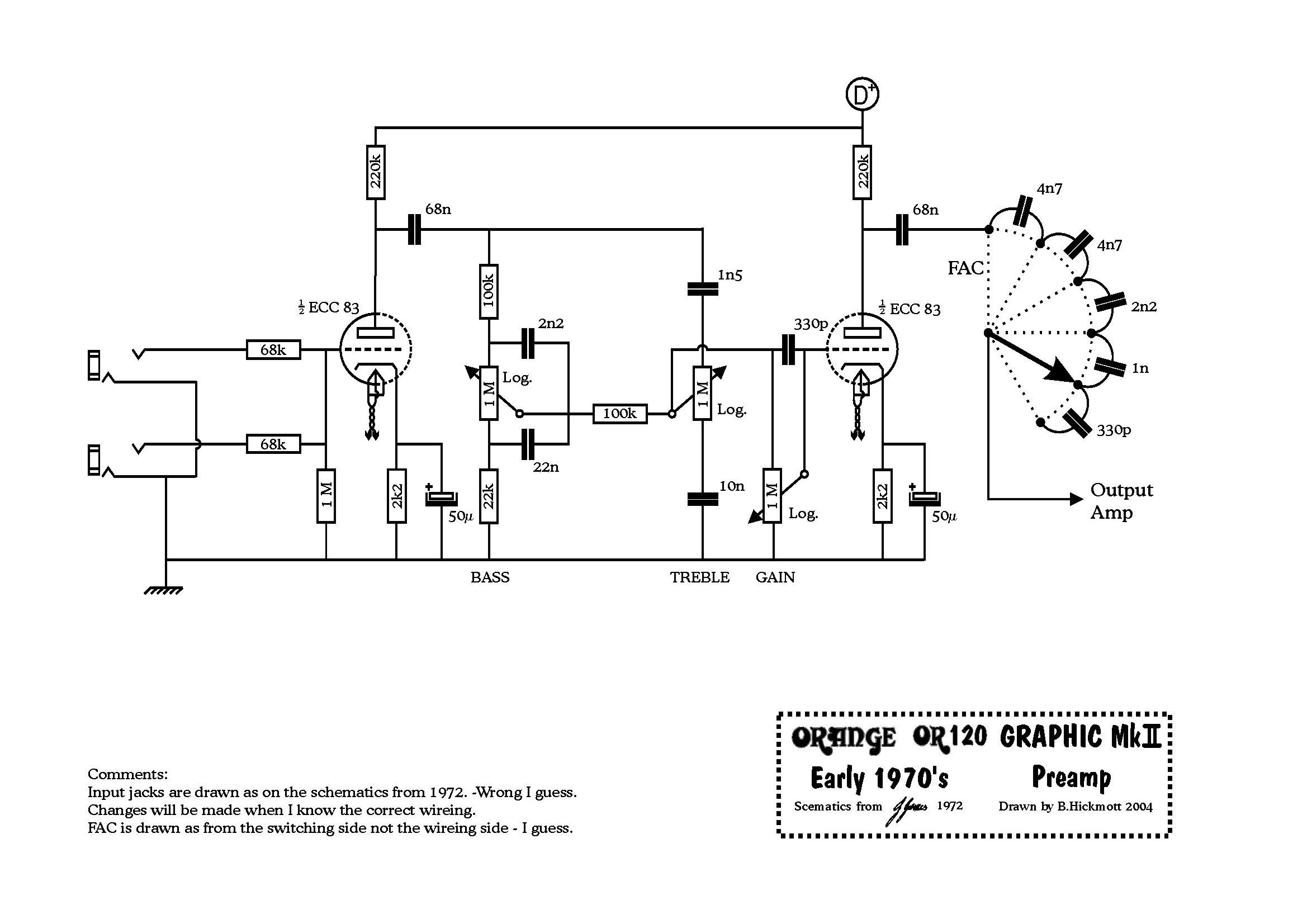 the orange amp mods page