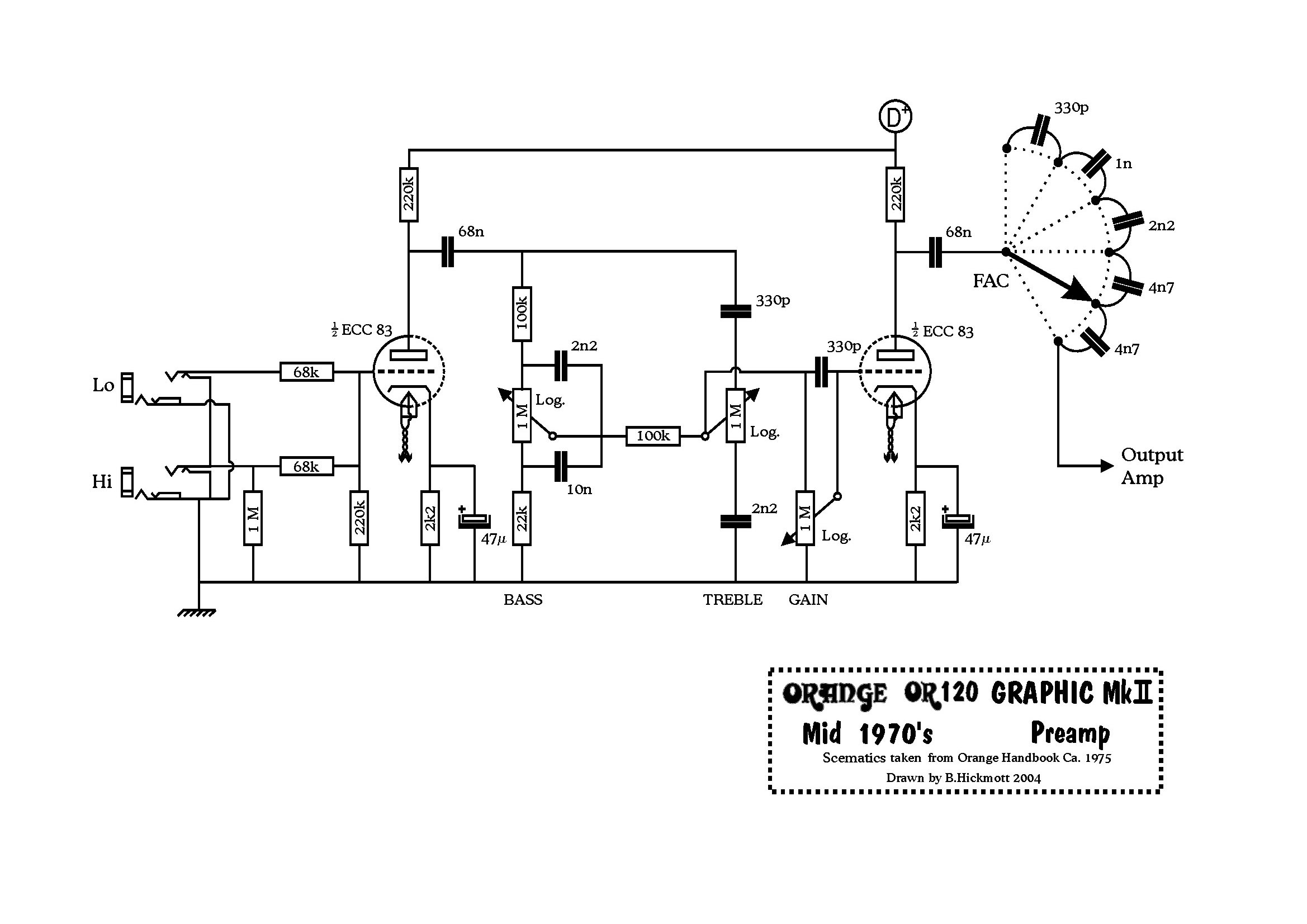Orange Footswitch Wiring Diagram Massey Ferguson 235 Parts Amp Schematics Trusted Diagrams On Foot