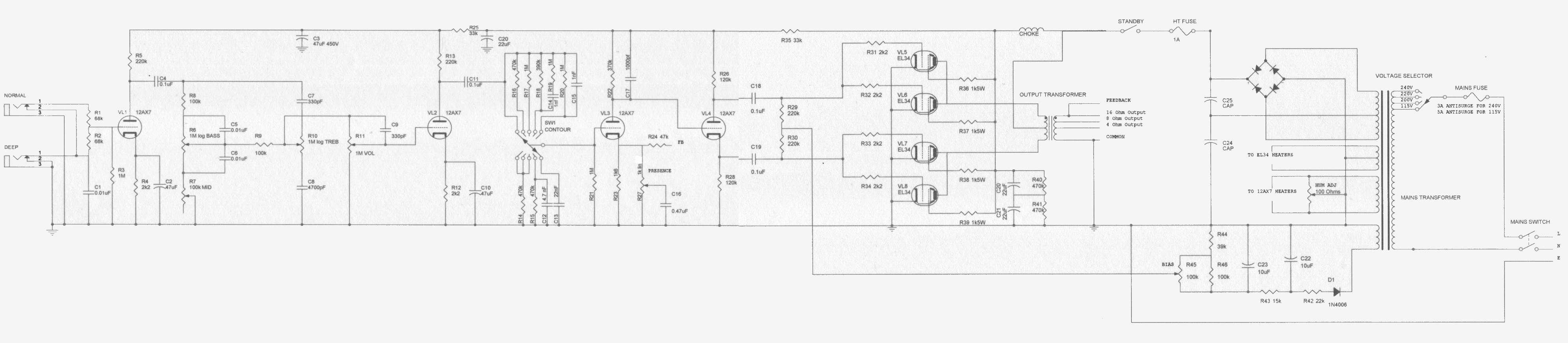 1979 Orange Superb Schematic - Completed - Orange Amps Forum on
